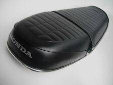 HONDA CB550 CB 550 500 FOUR SEAT COVER KIT + NEW  CHROME TRIM STRIP COMPLETE