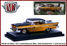 New Collectible 1957 Chevy Bel Air  Hardtop 1:24 Scale M2 Diecast Car