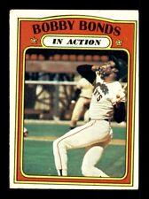 1972 Topps #712 BOBBY BONDS IA VG+ *9q