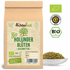 Holunder fleurs de thé BIO | 100 G | holunder blütentee | holunder du-achterhof