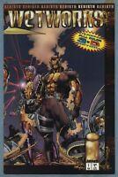 WETWORKS REBIRTH #1 SIGNED BRANDON CHOI RARE IMAGE COMICS 1994 AUTOGRAPH