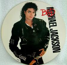 EXCELLENT! MICHAEL JACKSON BAD 1987 ORIGINAL VINYL LP PICTURE PIC DISC