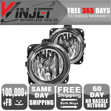 Fits 02-05 Lincoln LS Mustang Cobra Focus Svt OE Clear Fog Lights Lamps Pair