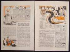 KITE PLANS 1937 Dragon-Box-Shark-w/Camera-Tetrahedral HowTo Build