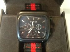 Exemplary Gucci Coupe 131.3 Gentlemans Timepiece. Boxed. Final reduction!