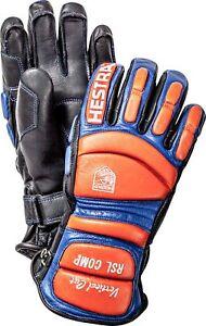 Neu Hestra Rsl Comp Vertikal Schnitt Rennen Leder Handschuhe Size 6 7 8 9 10 11