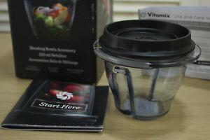 1 x 225ml Vitamix Ascent Series Blending Bowl, BPA Plastic, VM0192