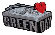 """""""Green Day"""" Heart Trap Band Logo Pop Punk Rock Music Iron On Applique Patch"""