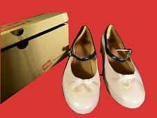 FITFLOP fpop patent mary jane nude size 6.5 UK EUR 40