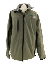 Aero Engine Controls Jacket Port Authority Soft Shell Sport Green Men's XL