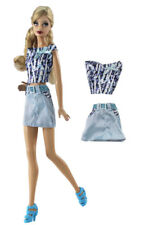 2 Pcs Set Fashion Outfit Top+skirt FOR 11 in. Doll Clothes a01