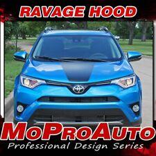 Toyota RAV4 Center Hood Vinyl Graphic 2016-2019 Decal 3M Pro Stripes fits RAV4