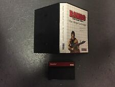sega rambo mega cartridge