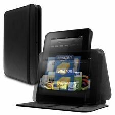 """Marware Revolve Leather Rotating Standing Case for Kindle Fire HD 7"""" Black"""