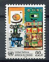 19186A) UNITED NATIONS (New York) 1986 MNH** Nuovi** Africa.