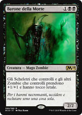 MTG DEATH BARON RUSSIAN EXC - BARONE DELLA MORTE - M19 - MAGIC