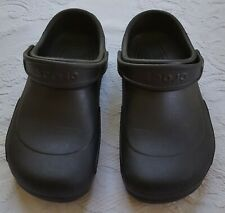 Crocs 'Bistro Clogs'. Womens 12, Mens 10. Slip Resistant. Black. Great For Work!