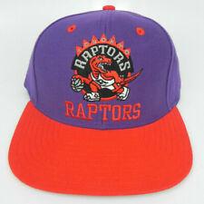 TORONTO RAPTORS NBA VINTAGE STYLE SNAPBACK FLAT BILL RETRO 2-TONE CAP HAT NEW!