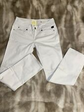 Womens White Skinny Fitted G Star Raw Jeans Size 29/32