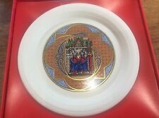 Vintage Boxed Hornsea Pottery Christmas Plate Limited Edition 1984 in Box VGC