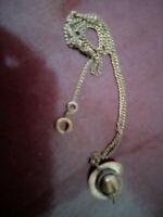 Vintage Match Striker,Hat necklace