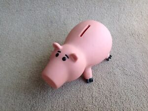 Toy Story Hamm Pig Money Box Piggy Bank Disney Thinkway