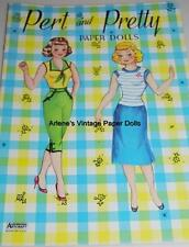 Vintage Uncut Pert & Pretty Paper Dolls Hd~Laser Reproduction~Lo Pr~Hi Qual