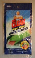 5 pr MR CLEAN PEARL GLOVES long cuff/embossed palm/resistant to home chemical/sm