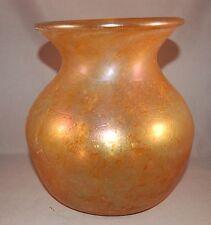 Iridescent RARE Stevens & Williams England Blown Art Glass Vase! CAERLEON