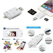 3 In 1 I Flash Drive 32 64 128 GB Drive Storage USB Memory Stick For Iphone 7