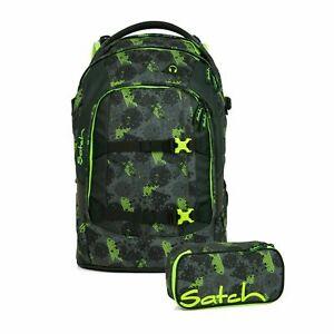 Satch Pack Off Road Schulrucksack Set 2tlg.