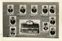Portland Oregon  Fire Department Engine Company  Station 7  orig 1930s photo