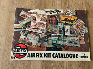 Vintage Airfix Kit Catalogue 13 Edition 1976