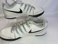 Mens Nike Vapor Court Trainers White/Black Size UK 10 EUR 46 Lace Ups