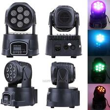 7 LED 140W Moving Head Light RGBW RGB Stage Lamp DJ Spot Lighting Party Club