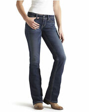 Indigo, Dark wash Unbranded Regular Size Jeans for Women