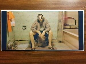 The Big Lebowski Movie Poster Print Toilet Bowling Scene Man Cave The Dude