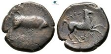 Savoca Coins Apulia Arpi Boar Horse Bronze 7,87g/21mm $ZRT1517