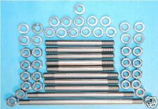 BSA Gold Star Stainless Engine Plate Studs B Series