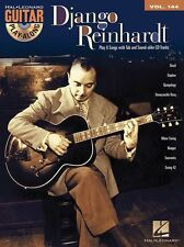 Guitar Play-Along Django Reinhardt Learn BAZIL DAPHNE TAB Music Book & CD