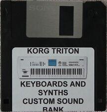 "Korg Triton ""Keyboards and Synths""Custom Sound Bank"