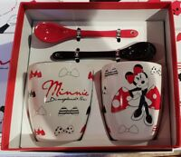 Set de 2 Tasses + Cuillères / of 2 Cups + Spoons Minnie / MN Disneyland Paris