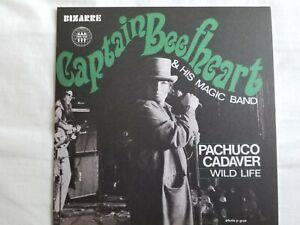 """Captain Beefheart & His Magic Band - Pachuco Cadaver - 7"""" White Vinyl Single"""