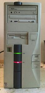 VINTAGE MMX INTEL INSIDE PENTIUM II 36X max DESKTOP COMPUTER