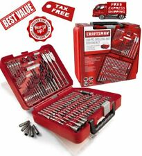 4ddf287d586 Craftsman 100 pc Accessory Kit Mechanic Tool Set Polished Combo Ratchets  Case