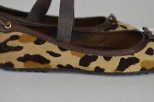 The Original Car Shoe Leopard Print Women's Shoes Size 38.5 Europe Size 8 US