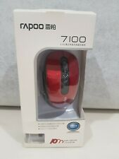****** Rapoo 7100 2.4GHz Wireless Optical Mouse Nano USB Receiver Mice *S1B18i6*