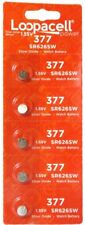 Loopacell 377 / 376 Watch Batteries (Pack of 5)