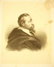 Lithography Claude Louis François Regnier of Guerchy Officer Henri IV 19th Albu