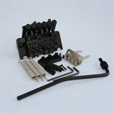 Black Floyd Rose Lic Tremolo Bridge Double Locking System Guitar Parts